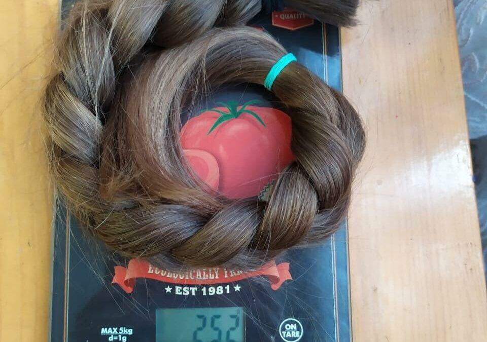 Продажа волос против нищеты